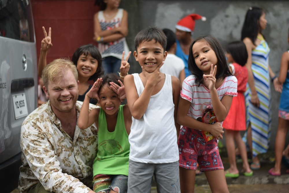 On Nick's first trip to the Philippines he is experiencing the joy of serving those in need.