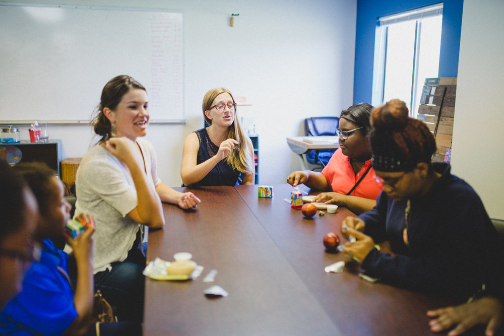 C.A.S.E. staff offer a consistent presence to youth. From homework help, to guidance in conflict resolution, to just sitting down over a snack and hearing about their day, these relationships are the backbone to the success of our program.