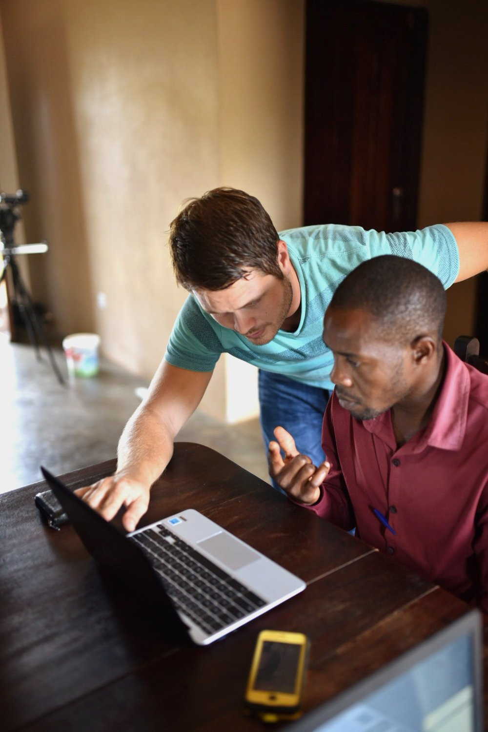 """The computer I received is that it came at a time I really needed it. I can use it for my biblical classes and also for ministerial tasks. The computer laboratory for our students is also expected to achieve much. Students are eager to start learning how to use them and hopefully they are going to be good assets for learning and increasing in the knowledge of God's word. I am thankful for the gift of these computers may God bless you all who contributed towards this."" Francis Lubega, Facilities Manager, G.O.D. East Africa"