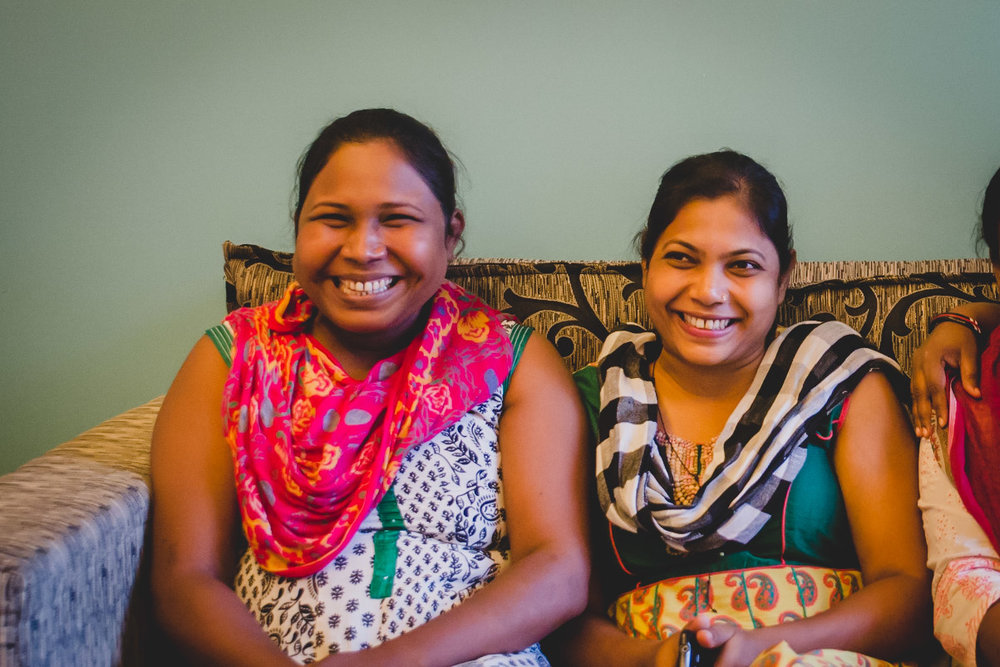 There is an unmistakable joy that emanates from Jyoti and Nemati, particularly when they talk about helping women.