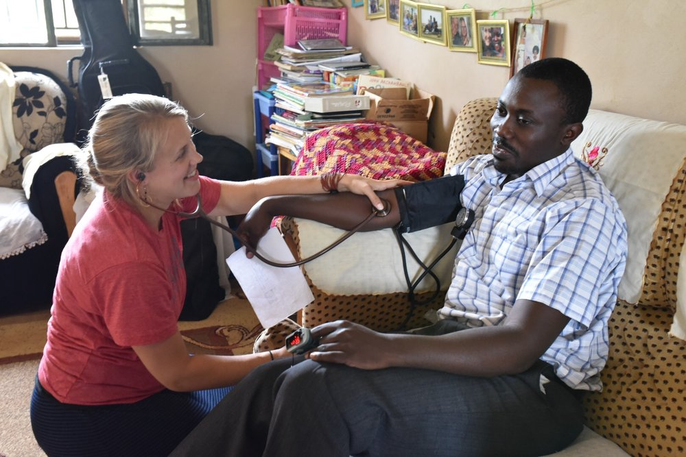 Amanda assesses the health of our East African cooperatives in Uganda. She knows that it's not just important for students to be healthy, but their teachers too!