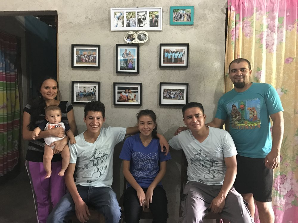 We spent a lot of time studying the Bible with our interns and cooperatives.  They were also able to learn more about those who assist our ministry efforts in other regions as well (pictured in the frames on the wall behind them).