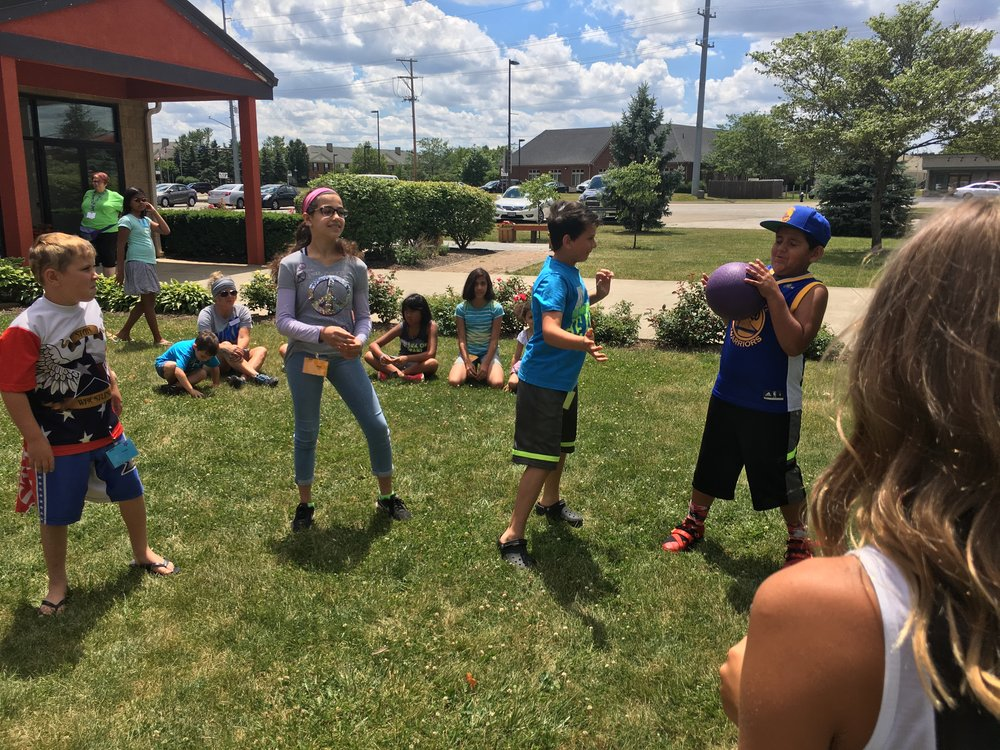 The youth learned this week that with a little bit or organization and planning that they can be a blessing to kids in need of facilitated summer activities.