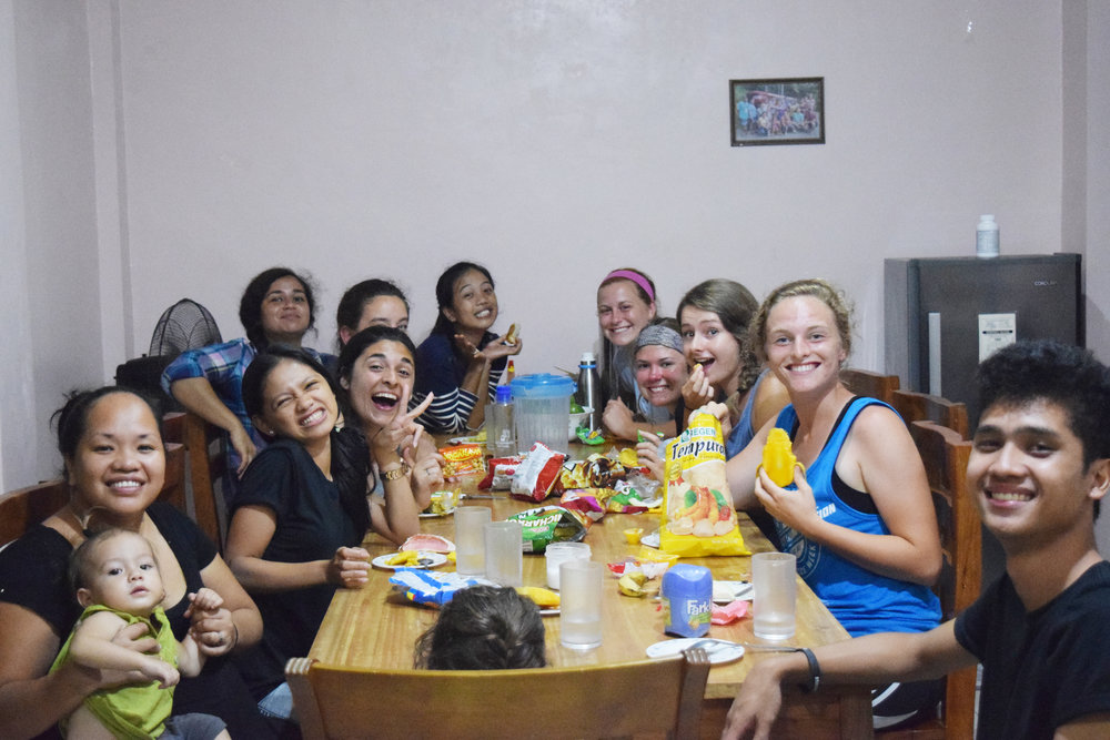 Summer interns joined Tahanan staff and G.O.D. personnel on the ground and enjoyed getting to know each other while studying God's Word and implementing important service opportunities.
