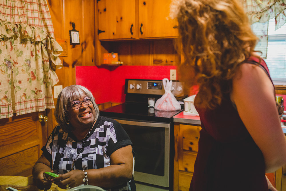 Sometimes hospitality has to do with more than welcoming someone into your world, but also being willing to enter into theirs. Kara Hadley makes it a habit to regularly visit with a few of our neighbors in Hopewell.