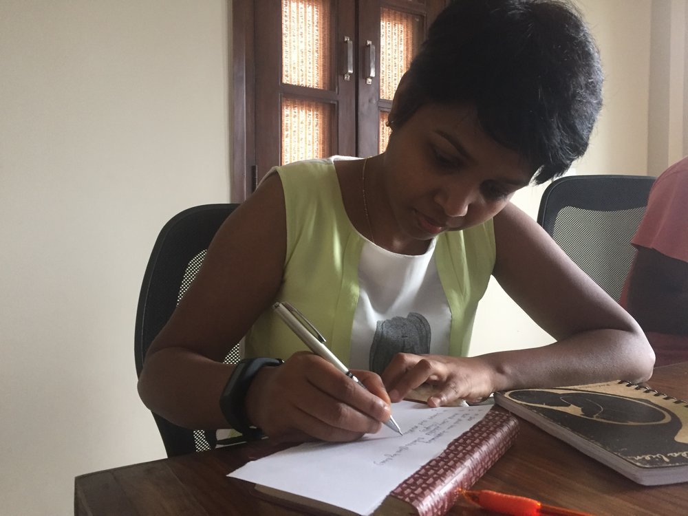 Sneha Purti is one of our cooperatives from India. Our team has been teaching Sneha about maternal health. This group has allowed her to share with other women and hear from their perspective as well.