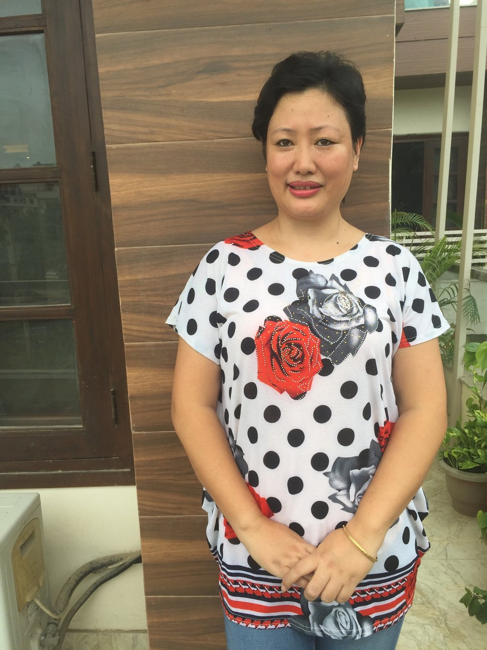 Chang: administrative assistant and event coordinator, alongside training in maternal health.