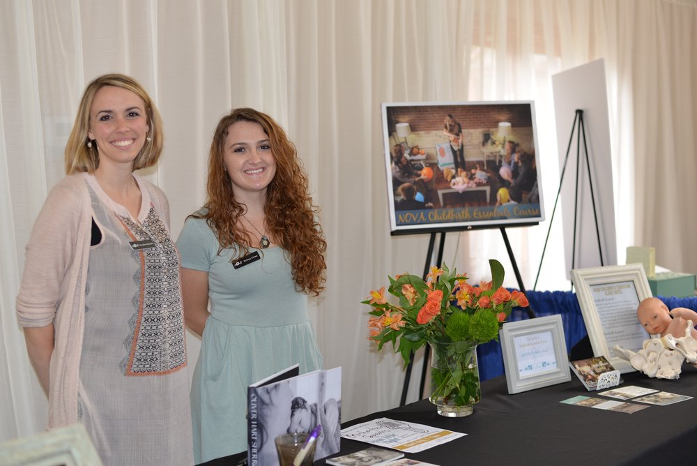 The mother in this story found Kendice Hartnell (left) at a Birth Event in Nashville. Though young, she was determined to do motherhood well and sought out help. We were so glad to provide it.