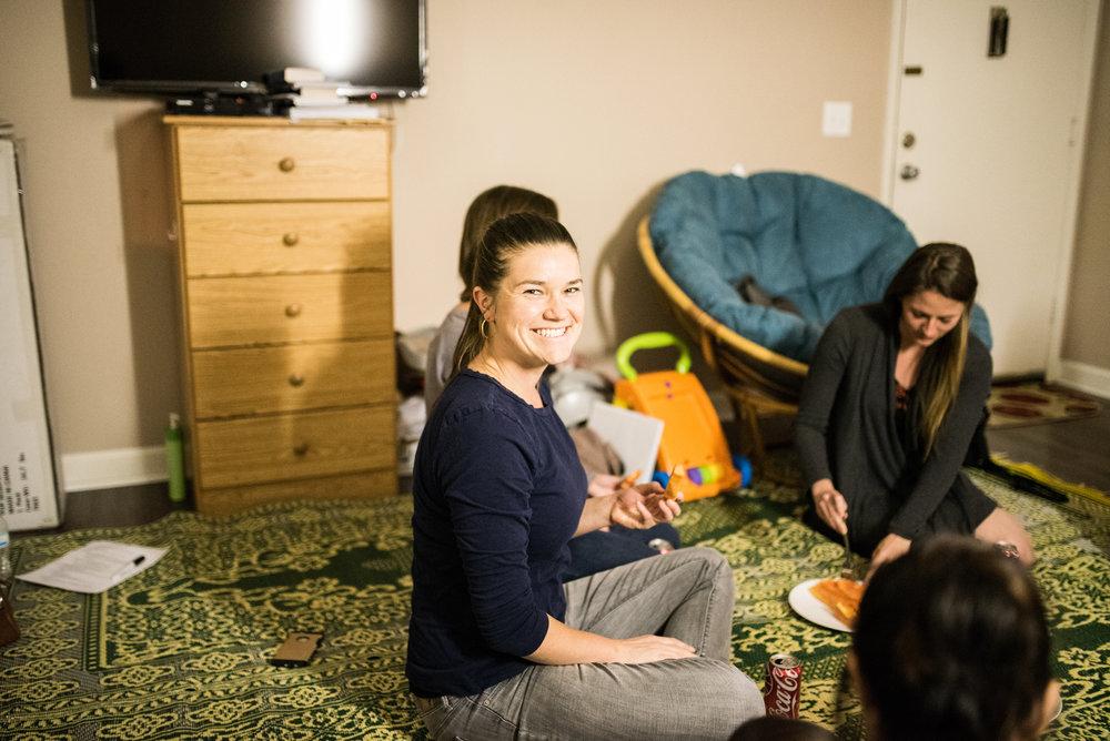 Rebekah Davis originally began working with refugees as a homework assignment for an Institute class.