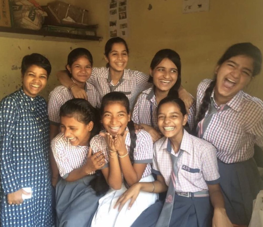 One of the ways that our team has creatively resolved to reach out to girls at APS is through a discussion series led by our cooperative, Sneha Purti.