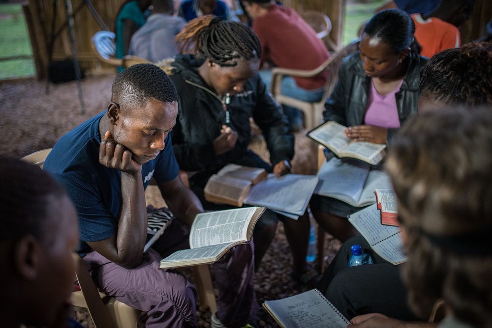 The main empowerment that occurs is from learning God's Word. We believe that this truth can change a life, and we've seen it happen over and over again.