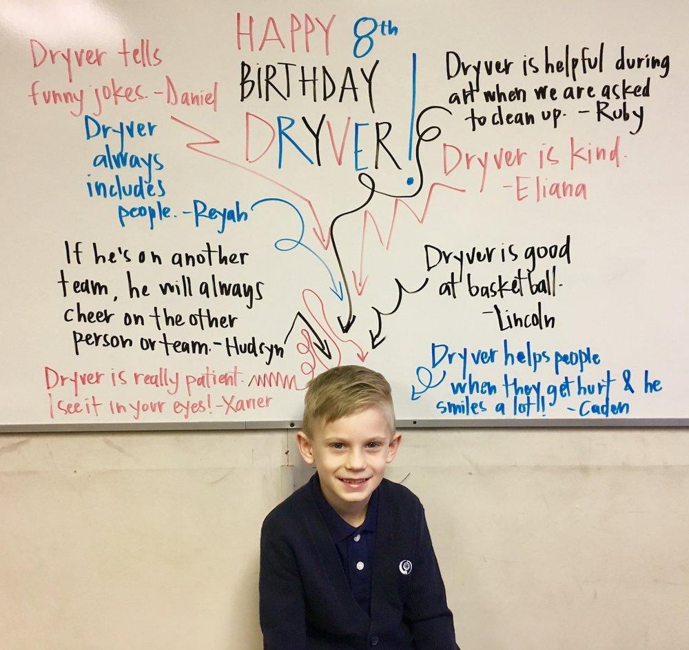 Happy Birthday Dryver!