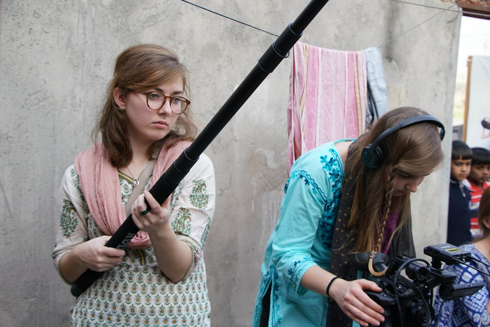 One of the things Jenna got to participate in while in India was the filming of our documentary--a pretty special project for a young woman interested in photojournalism. Read about this project  here !