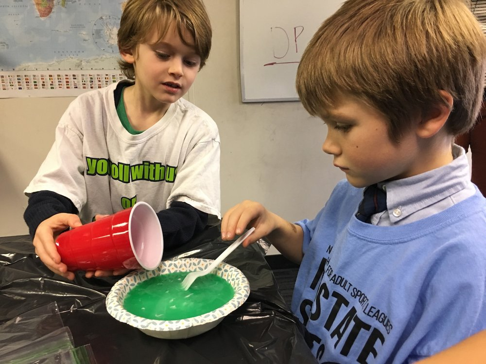 Bible Class: Slime with Green Class!