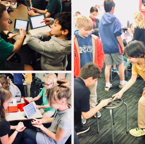 Students play a Paper, Rock, Scissors Tournament and compile their statistics from their matches in order to determine what method has a higher probability of winning for them.
