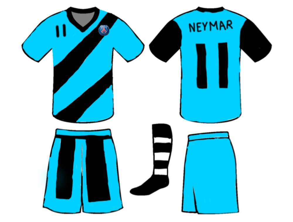 This uniform designed by Black Classes Ethan O.