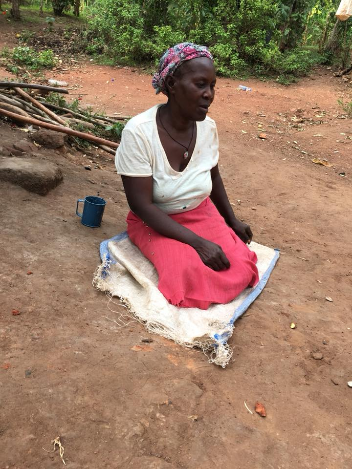 """This is a widow who was caring for seven children and came to Ssemakula asking for his help. He enrolled them in school and took care to help integrate them. Their favorite days are """"lunch days"""" which have now increased to twice a week."""