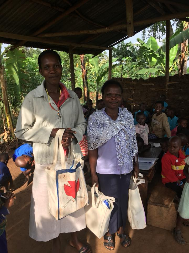 We are giving teachers more resources to use as their need arises. Even though the teams sent many supplies, we distribute as needed to make the most of them. Last week we delivered these to Teacher Noeline and Teacher Allen.