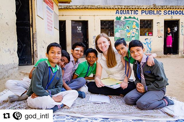 #Repost @god_intl ・・・ In our attempts to improve schools around the world, we recognize that the best thing we have to offer is our human resource. Rachel Nowlin is one such resource — a committed teacher who spent this last year teaching students and helping administratively with staff at Aquatic Public School in India. We are so thankful for her work! 👩🏼‍🏫 - - - #godintl #godindia #thehumanresource #primaryeducation