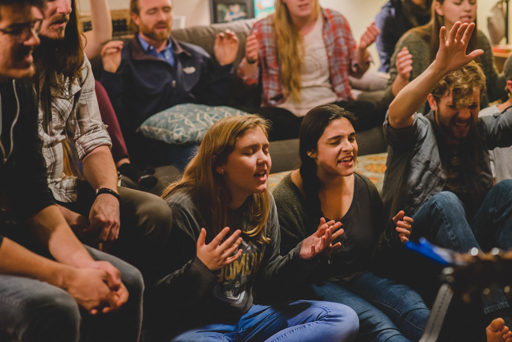 Students have multiple opportunities to worship throughout the week at bible studies and chapel.