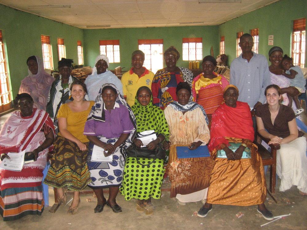 Childbirth Education Conference for Traditional Birth Attendants, facilitated by Megan (Fleeman) Ssekabira and Celesta Bargatze. (Uganda, 2010).