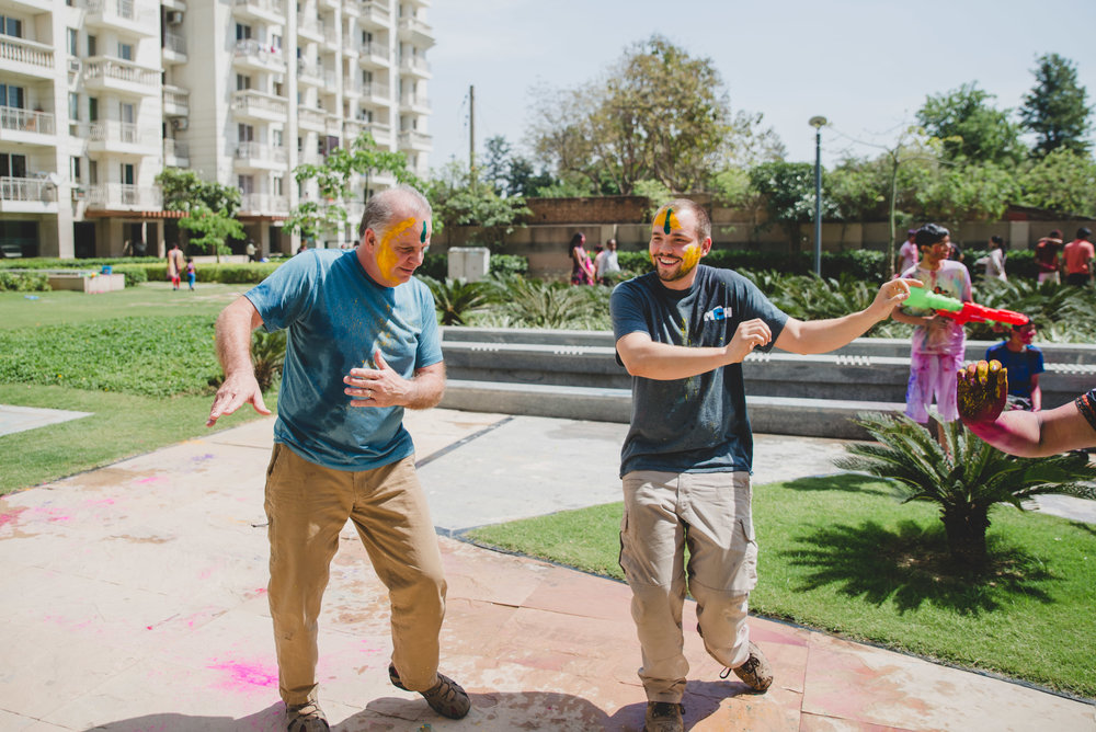 Participating in popular Indian festivals like Holi gives team members insight into local culture and helps us understand the worldview of those we serve.