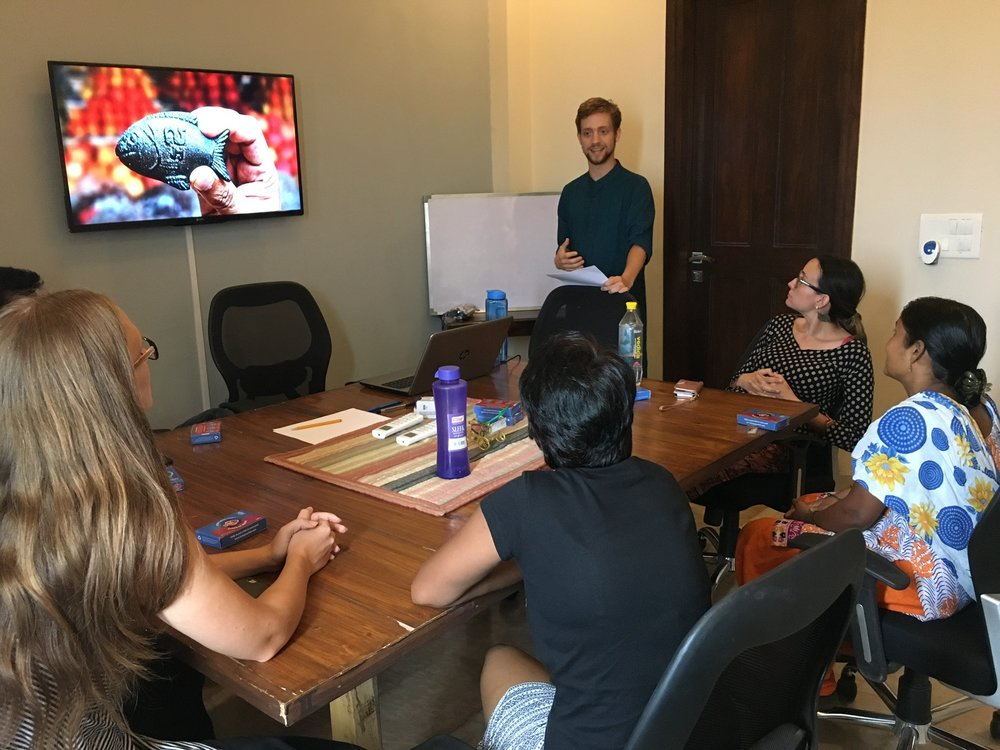 As his first immersion project, student Ryan McAllister prepared a seminar on the use of 'Iron Fish'. This nutritional supplement addresses chronic issues of anemia in India, due to the high cost of iron-rich foods.