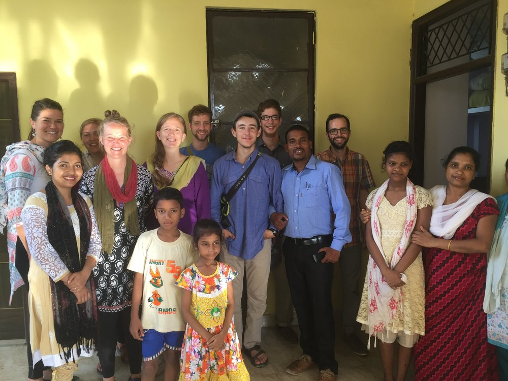 Hospitality in India is unlike what most westerners have ever experienced. This Indian pastor invited us to his home after morning church service, and entertained us all afternoon with music and stories while his wife prepared a wonderful meal.