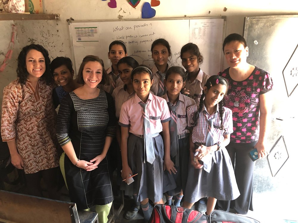Earlier in 2017, Sneha Purti and Rose Oungh began a discussion group for more than a dozen female students at Aquatic Public School (APS), grades 6-10. Young ladies in India often lack consistent venues to discuss social issues like self-image, much less discuss them with teachers informed by God's Word.
