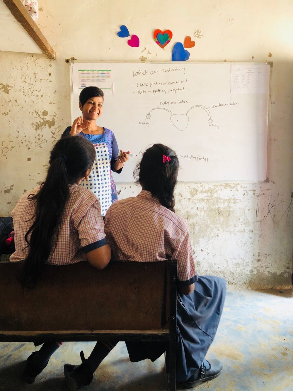 Sneha Purti is loved and respected by the young ladies in her classes; she has empowered them by giving them the gift of understanding. They are no longer afraid or confused by what is happening in their own bodies, but can appreciate the way they have been fearfully and wonderfully made!