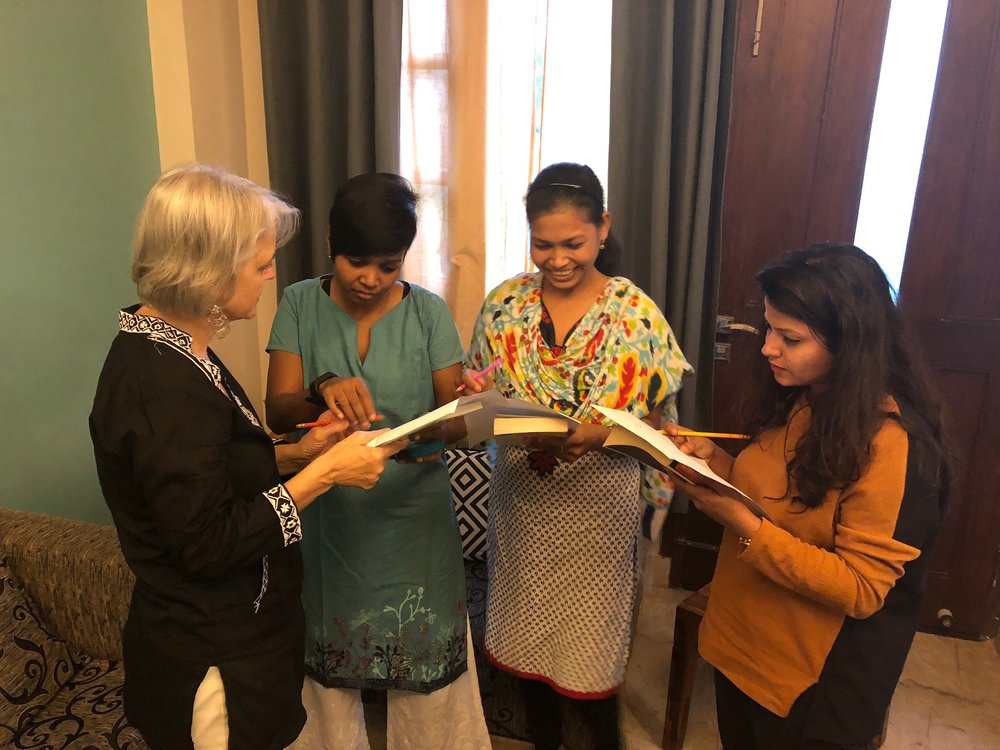Utilizing interactive facilitated discussion techniques, the small group setting of Hamari Awaz allows for vulnerability and open conversation about topics many women in India might not have the opportunity to discuss otherwise.
