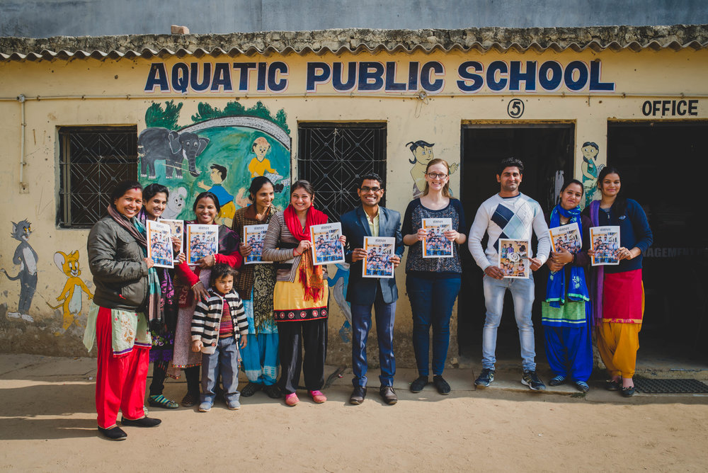 One of the best ways that we can serve the APS kids is by equipping and investing into their teachers. This magazine is one way we are doing just that - giving them practical tips for the classroom translated into Hindi!