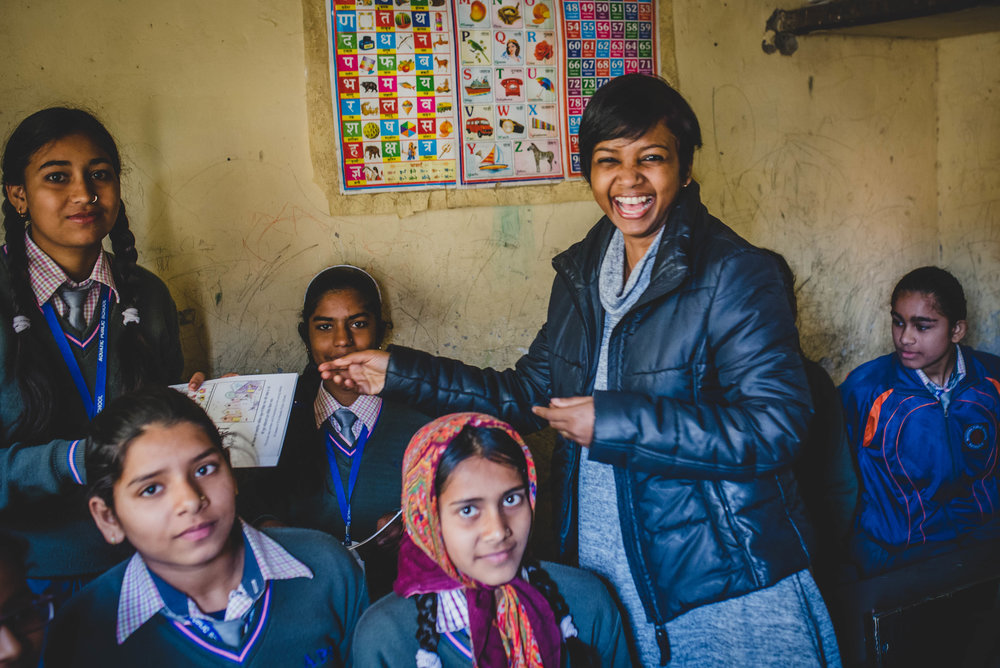 Sneha has been diligently serving the girls at APS by facilitating a class and discussion on issues that young girls face. This ranges from health and anatomy to emotions and safety. Such discussions have proven to be so beneficial to the girls as these are typically taboo subjects in Indian society.