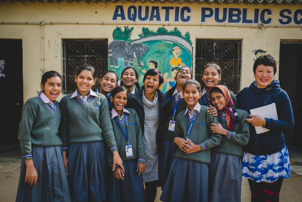 The girls at APS adore Sneha and look up to her not only as a teacher, but as a role model. We are so thankful that she is able to serve the girls in this way and give them a safe space to discuss their issues.