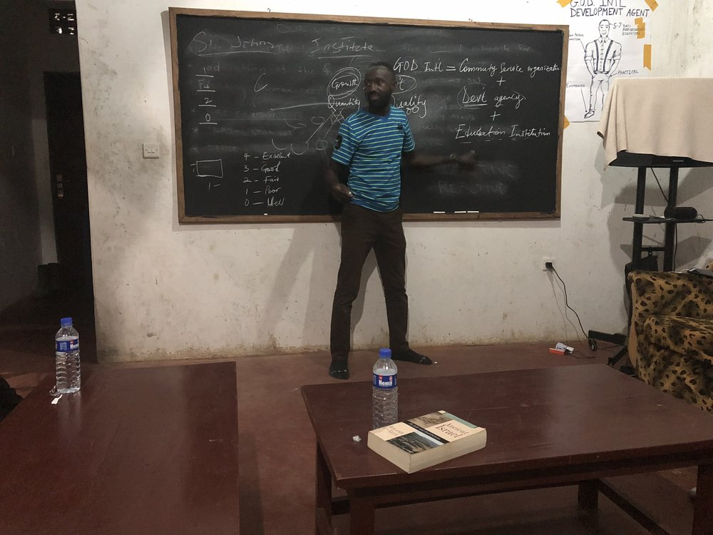 John Nyago, originally from this area of Uganda, is one of our middle managers for the East Africa region. His understanding of the culture, language and area makes him a wonderful asset, his knowledge of God's Word -- an invaluable one.