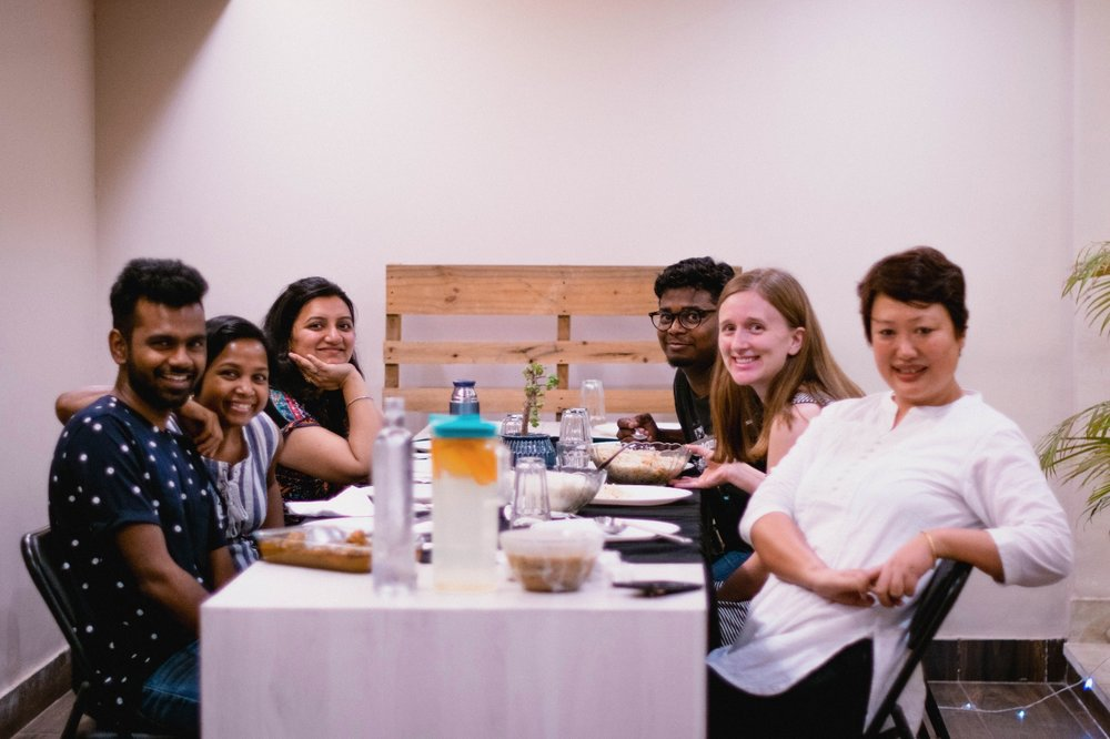 Holding a gathering on Friday nights allows for people to come share a meal after work, and have meaningful fellowship at the end of their week, without conflicting with their regular Sunday service.