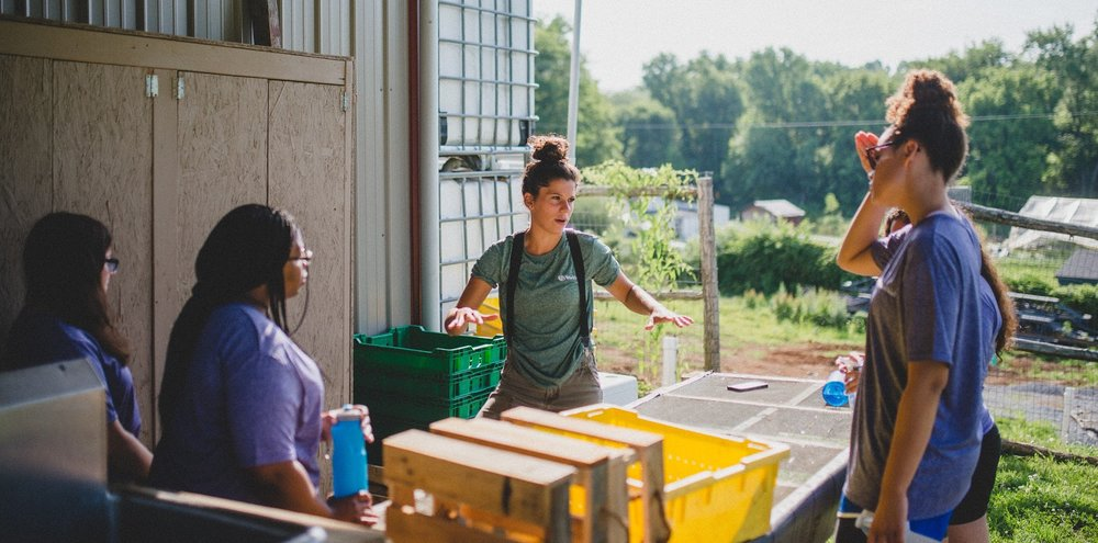 Whether it's instruction on the farm or meaningful life lessons, youth employees love the intentional guidance that Kennedy pours into them.