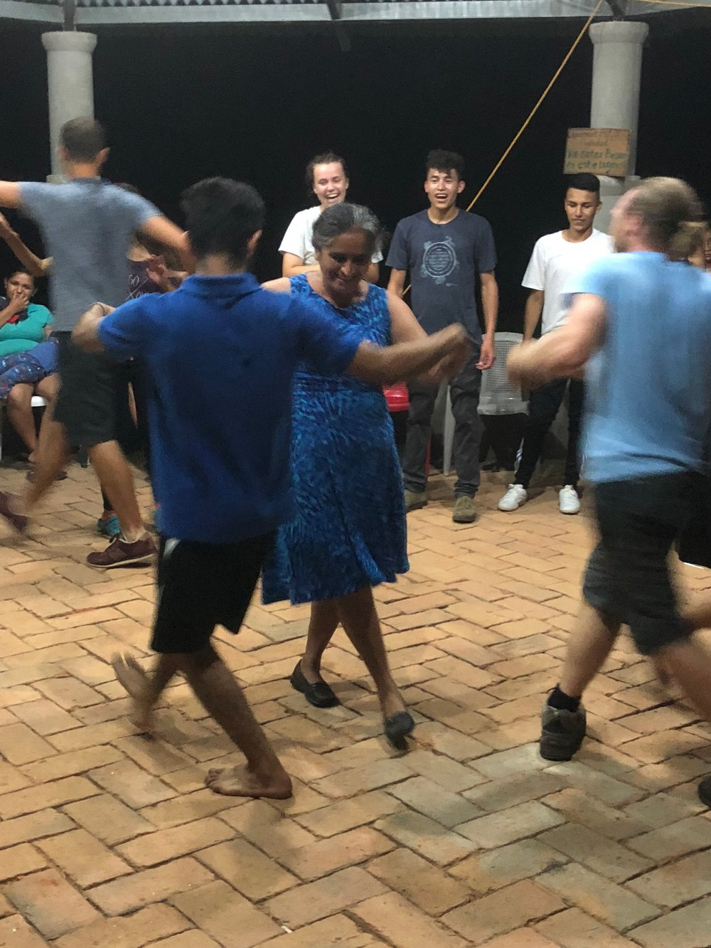 Kyle shared his love of swing dancing with about 40 youth in El Salvador. The youth loved it so much, they kept dancing an hour and a half longer than scheduled!