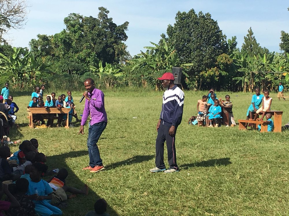 One local council chair for the area surrounding St. John's visited and gave a speech. He was a former student of St. John's and was so impressed by the event and specifically the dancing that he promised to meet one young boy's school needs for the entire year.