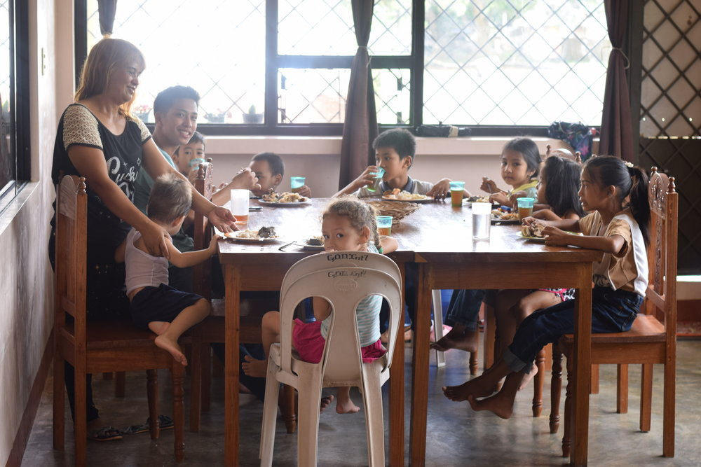 """Tahanan is a space for all ages! We love hosting friends, family and ministry partners for fellowship and meals. We hope those who visit truly feel at """"home."""""""