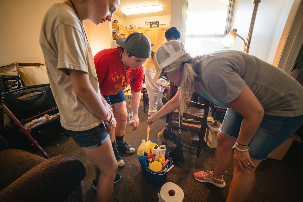 Cleaning can often seem like a small task, but for those unable to do it anymore - this small gesture of kindness, extended by young people who care, can have a profound impact.