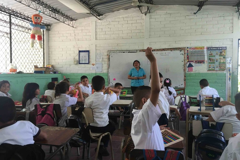 Empower Salvadoran Teachers - Help us meet the end goal of educational success for students by focusing on the agents of that change: the teachers! By helping us cover the costs of resources, you allow us to spend more time on the teachers themselves!