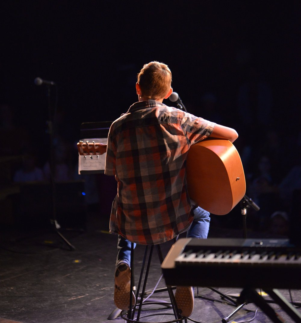 Each year the Academy hosts a student talent show where the acts include a variety of skills, but at the top of the list each year is a number of musical performances from the students!