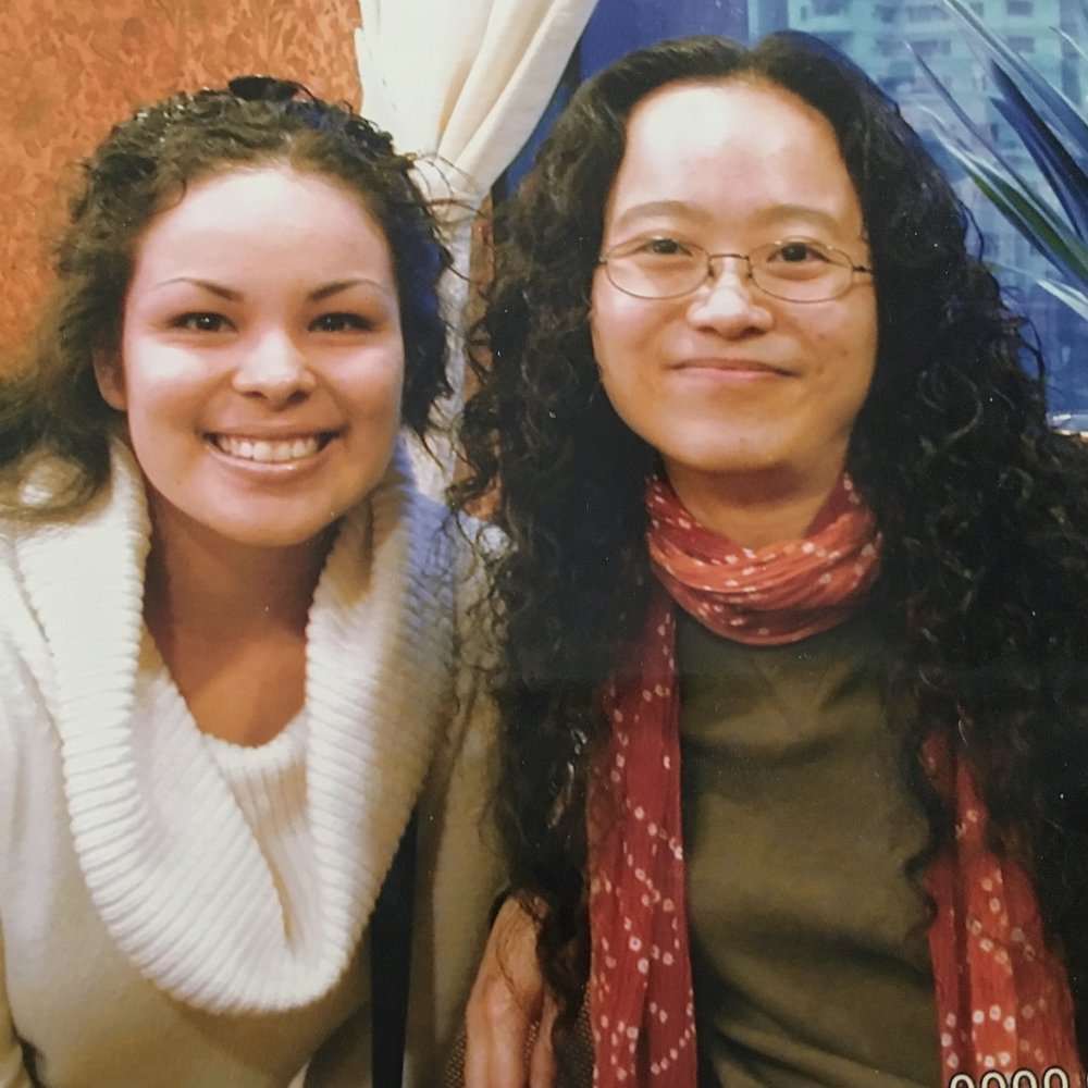 """This is me with my Chinese friend Regina. Although my """"look"""" is versatile, I still experienced racism even while ministering in China. They assumed I was mixed: Chinese and Black. Serving staff in Hong Kong sometimes refused to serve me."""
