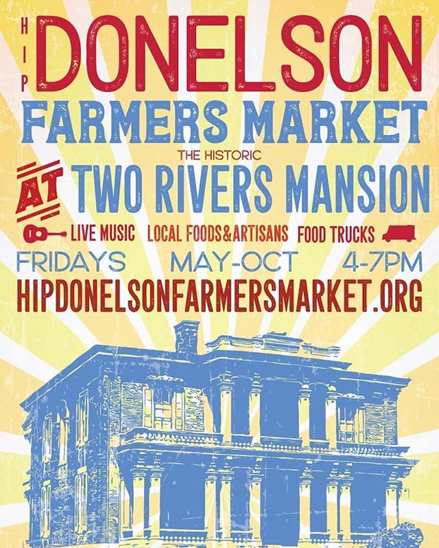 Come out and see us today at the Hip Donelson Farmer's Market! We will be there from 4 to 7 PM with a bunch of fresh, organically grown, spring goodness. Oh, and our friends @peacefieldky will be there too with the best meat you've ever had. 3130 McGavock Pike Nashville, TN. @hipdfarmersmarket