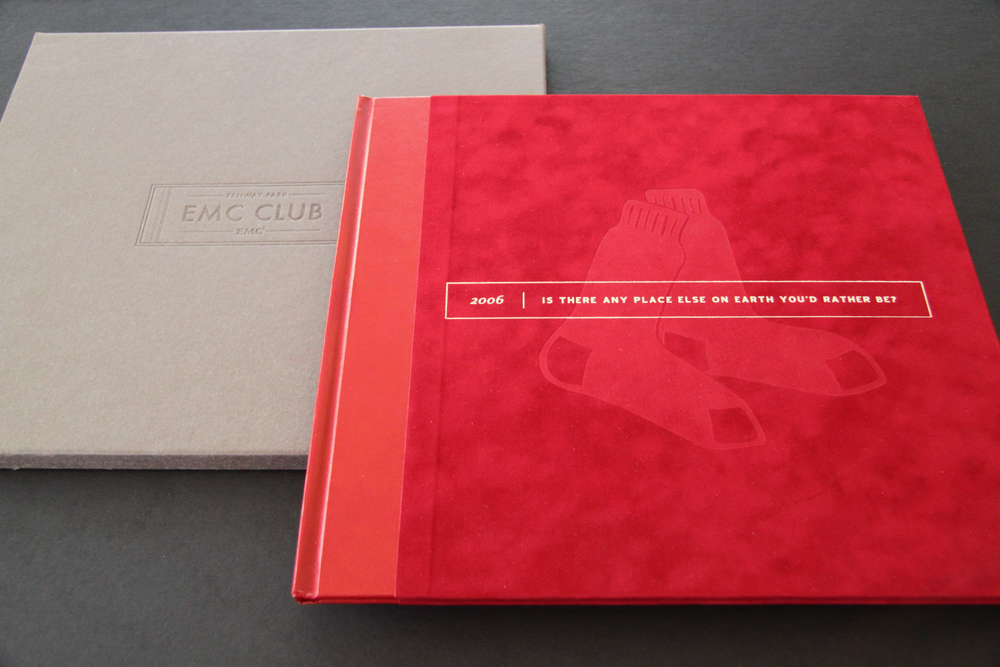 Boston Red Sox EMC Club Welcome Book