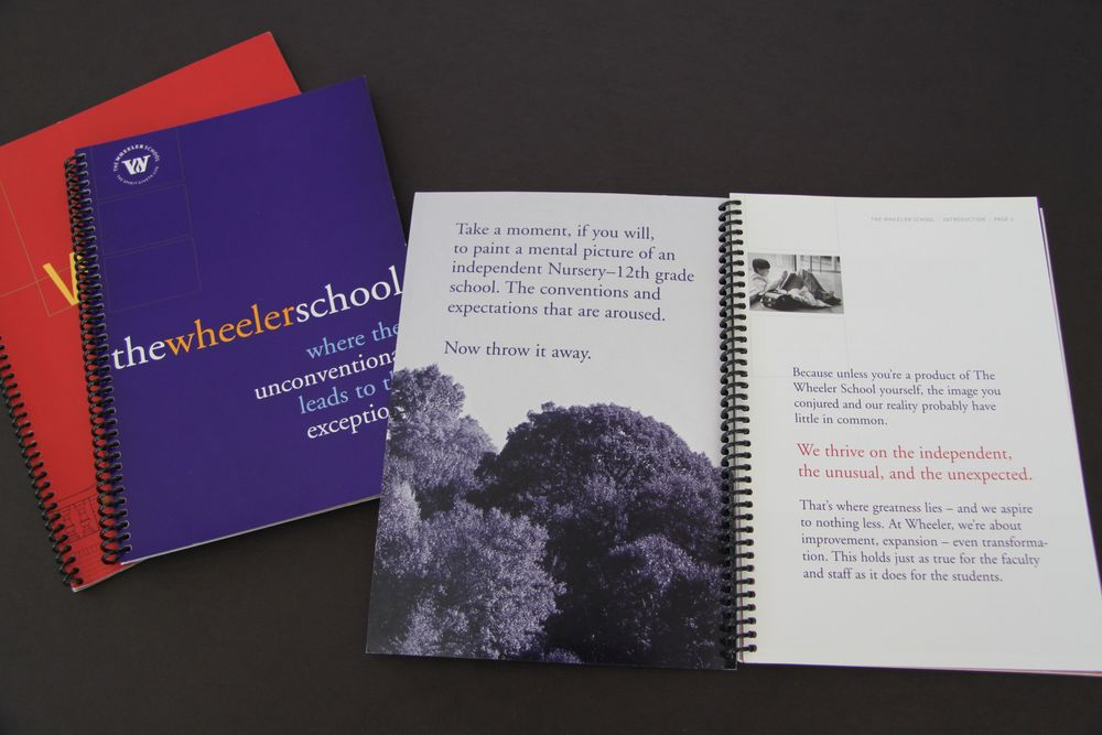 Wheeler School Viewbook