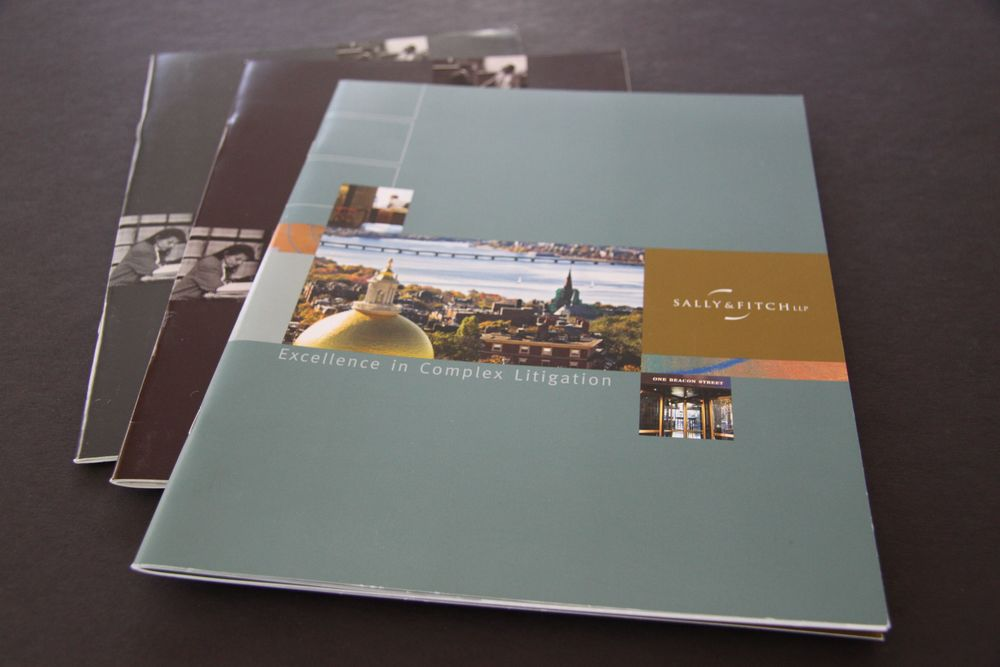 Sally & Fitch Corporate Brochures