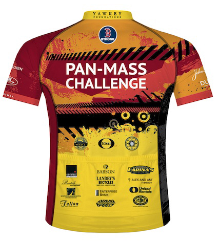 Pan-Mass Challenge Ride Shirt Back