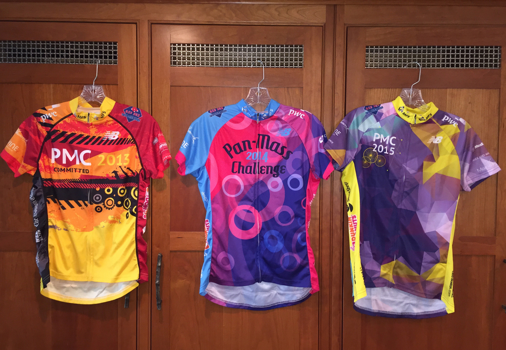Pan-Mass Challenge Ride Shirt Fronts